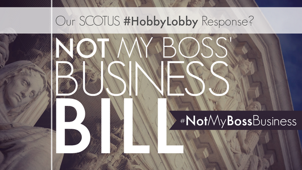 58% of women use birth control for health reasons. RT if you know healthcare is #NotMyBossBusiness http://t.co/qdlJBJ7vcy