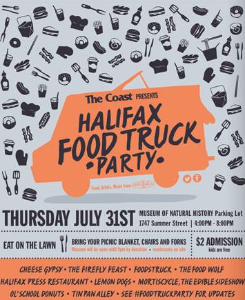Yeahhhh, you're going to want to make sure you're free on July 31st at 4. FOOD TRUCK PARTY! #foodtruckparty #halifax http://t.co/60igrLXtxL