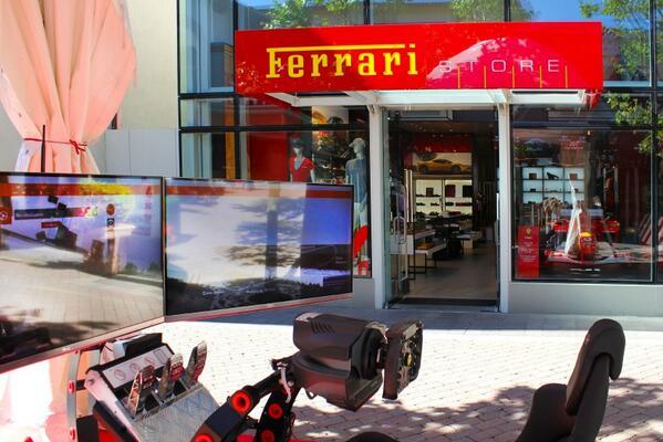 Vieni a provare il simulatore #FERRARI e vivi le emozioni dei grandi piloti!  http://t.co/YqvIbcOpyZ .@ferraristore http://t.co/AWjAA95ANy