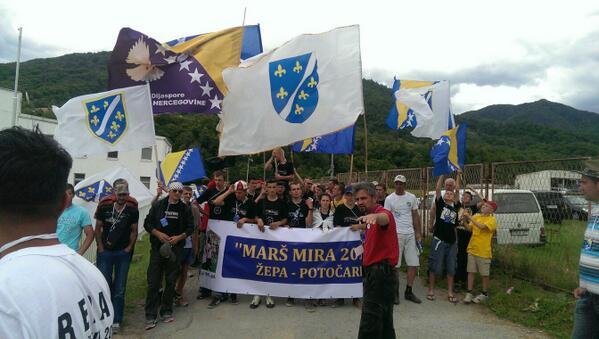 Billedresultat for Marš mira Žepa - Srebrenica - Potočari
