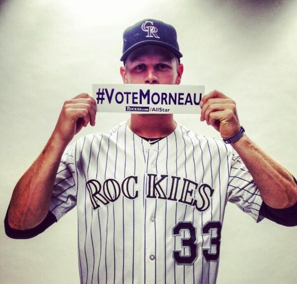 SHOW your love and #Retweet  #VoteMorneau #VoteGrich  #Angels #Rockies #MLB #Baseball #Canada http://t.co/u7rrfMDuKS