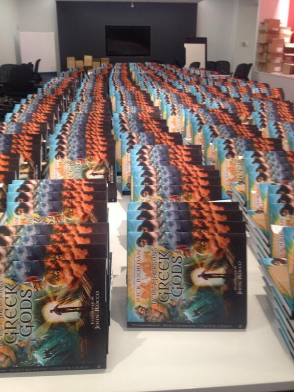 We're ready for @camphalfblood today! http://t.co/Cg4WFEPvx6
