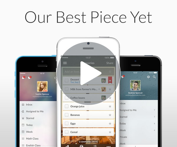 It's official. Wunderlist 3 is coming soon! Visit http://t.co/RHpz4M3slP to watch the sneak peek video. http://t.co/OTz4biPNVP