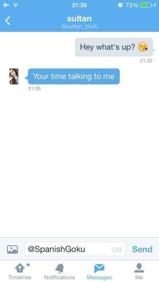 direct message pick up lines