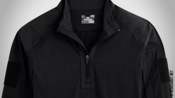 Under Armour Storm Tactical Combat Shirt Black