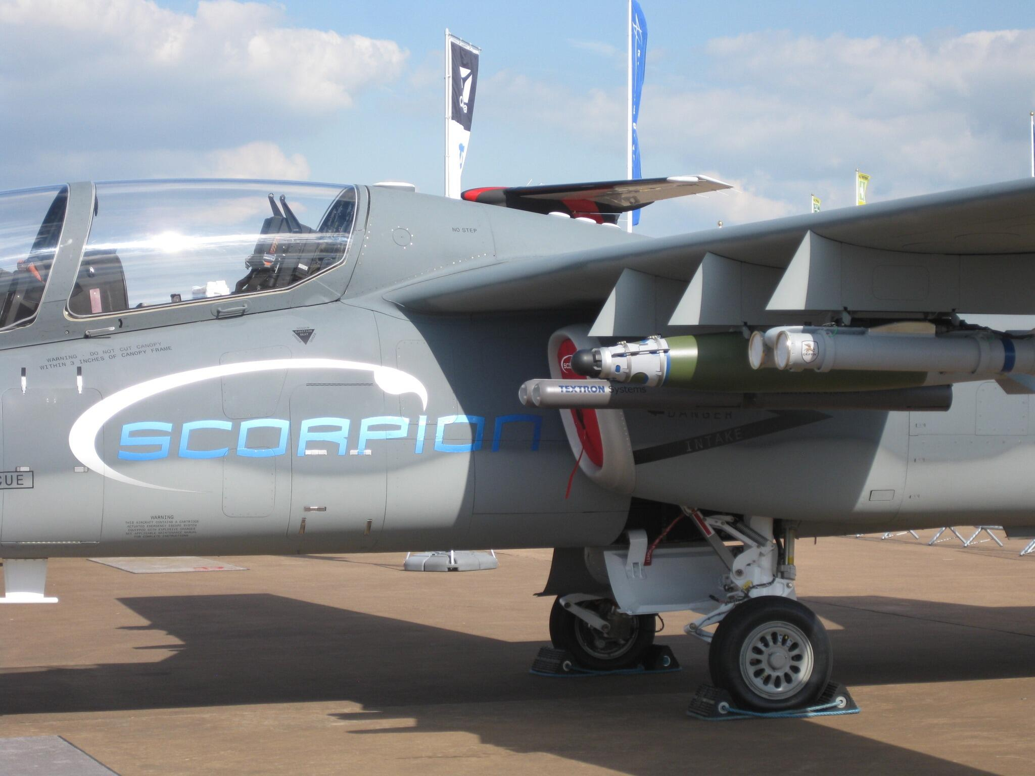 Scorpion ISR/Strike Aircraft BsNFVLwCIAA740D