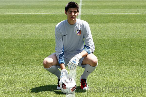 Departing Thibaut Courtois thanks Atletico Madrid & fans on Twitter for three beautiful years