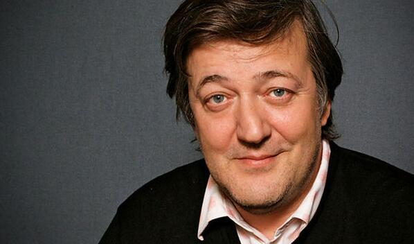 Stephen Fry Luv - Magazine cover