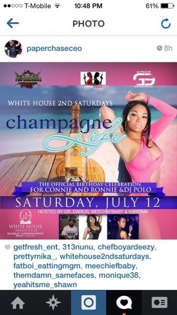 Come & celebrate at The White House with PaperChase Ent, SameFace Ent & Dj Polo this Saturday!! http://t.co/x2NAHEjAr3