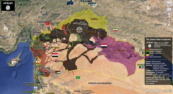 Luay al khatteeb on twitter deathzone rt artwendeley google luay al khatteeb on twitter deathzone rt artwendeley google earth map of syria iraq is by ckabusk httptnlsiqkfse5 isis uniraq gumiabroncs Gallery
