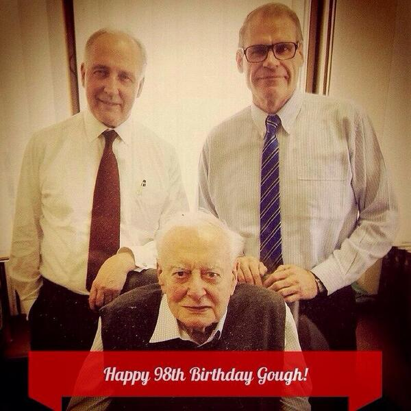 Happy birthday Gough. And they drank Passiona http://t.co/DOxfUpCIId