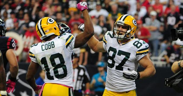 Image result for randall cobb and jordy nelson