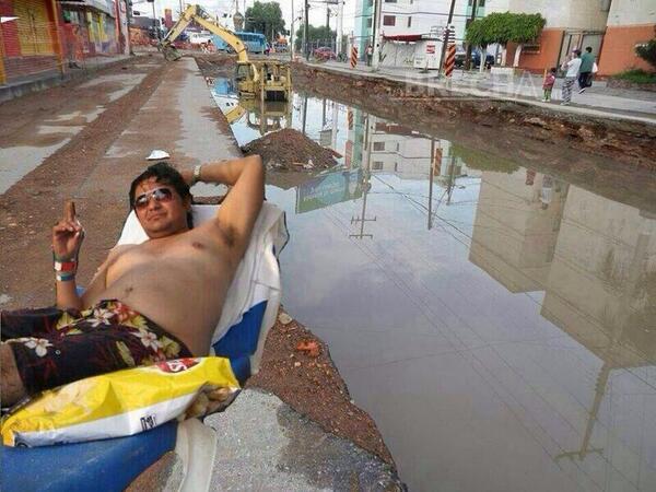 Las paradisíacas Playas de Av. Muñoz en San Luis Potosí!  #SLP Ideal para este verano!  #CosasDeHombres http://t.co/zpg8x6bc70