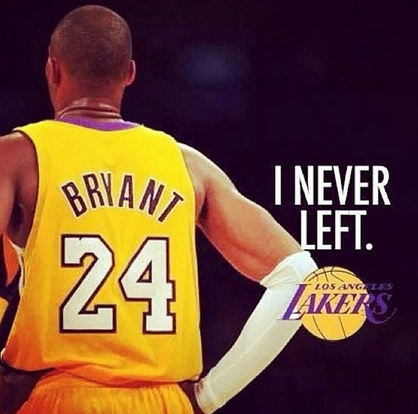 #NeverLeft #Laker4Life RT  @SnoopDogg: Die Hard !! http://t.co/m2UhOx6Rmq""