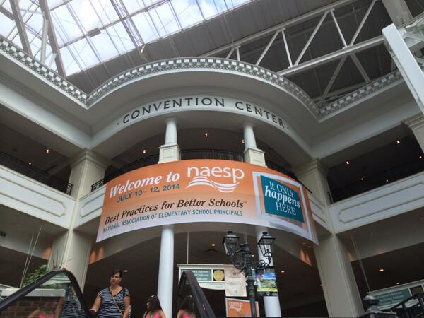 Thumbnail for 2014 NAESP Conference - Friday in Photos