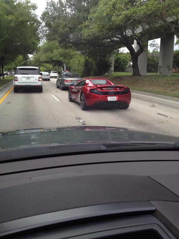 stetson glines on twitter big maclaren with miami heat tag frame and tag reading burntu only in miami httptco5b8eaxra50 - Miami Heat License Plate Frame