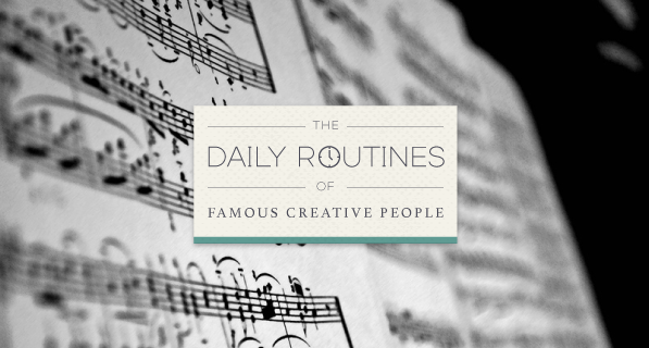 Not all great minds think alike. The unique daily routines of 26 creative greats: http://t.co/v7tS6OQ7W6 http://t.co/cp2a6kVaDG