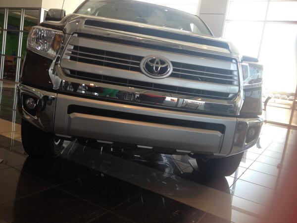 Experience The Dopeness Of The All New 2014 TUNDRA, 1794 Edition! Come In  And Explore By Yourselfpic.twitter.com/V8D8oXCz0z