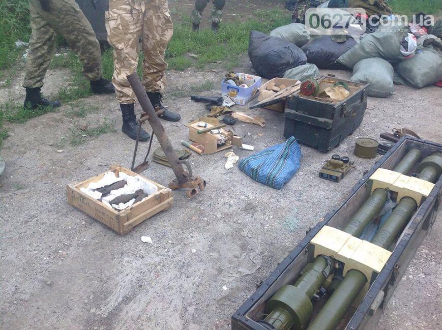 """Боевики """"Беса"""" атаковали блокпост батальона """"Донбасс"""" в Артемовске: один военнослужащий ранен, пять террористов убиты - Цензор.НЕТ 9796"""