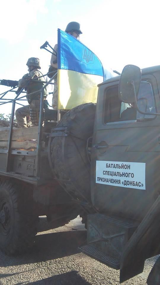"""Боевики """"Беса"""" атаковали блокпост батальона """"Донбасс"""" в Артемовске: один военнослужащий ранен, пять террористов убиты - Цензор.НЕТ 7233"""
