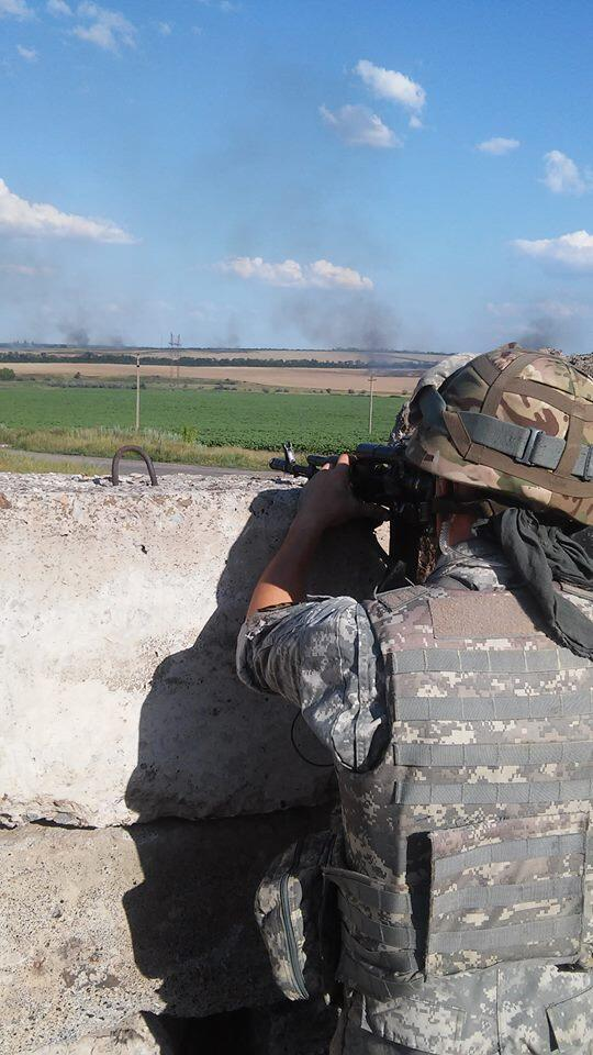 """Боевики """"Беса"""" атаковали блокпост батальона """"Донбасс"""" в Артемовске: один военнослужащий ранен, пять террористов убиты - Цензор.НЕТ 5011"""