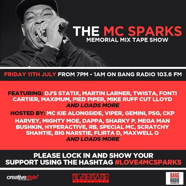 (http://t.co/Jz6zZ0rqHE) from 7pm-1am please tune in, get involved and get trending #Love4MCSparks http://t.co/Sgc69c0F9w
