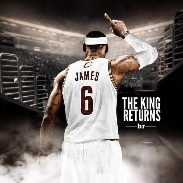 lebron james i m coming home analysis (cnn) -- after four years away, king james is sensationally taking his throne back to cleveland lebron james told sports illustrated for a story published friday that he'll leave the miami heat for the cleveland cavaliers -- a bombshell return to his home region that he devastated when he left v.
