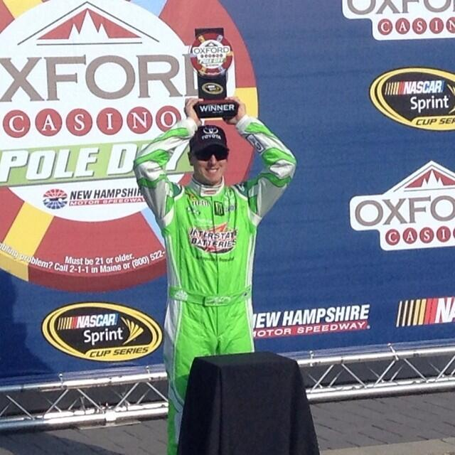 Twitter / interstatebatts: Pole winner! #nascar - ...