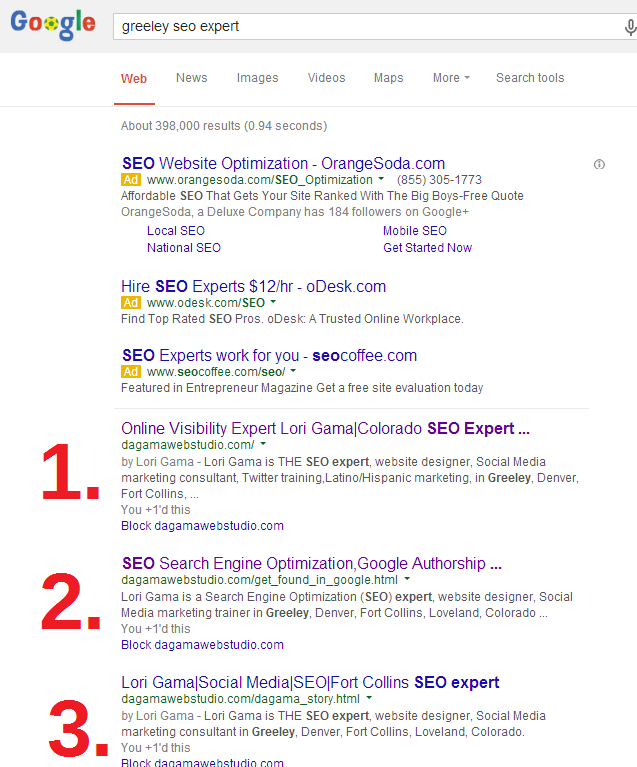 Twitter / LoriGama: Good SEO gets you found in ...