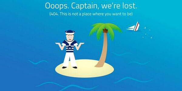 The dreaded 404 error - do more than ignore it, optimize it! Here's some great tips & ideas: http://t.co/TzCVXPWtem http://t.co/J11xnxd9go