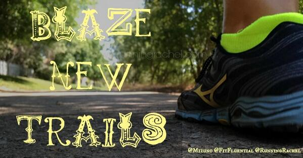 #BlazeNewTrails with @MizunoRunning Wave Kazan trail running shoes!  http://t.co/8mTuu6e3RF #ad #fitfluential http://t.co/whkcAIxx8B