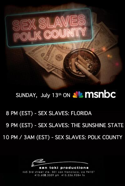 Msnbcs sex slaves in america