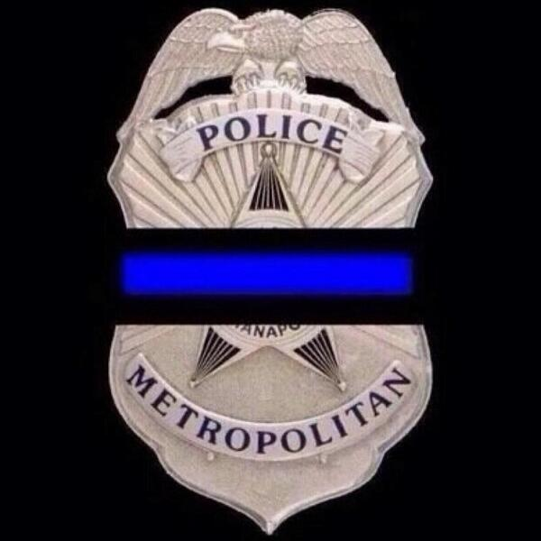 Our thoughts & prayers are with our friends in Blue & their families. #IMPD_Renn you will be missed! #HometownHeroes http://t.co/uh2JsrcWKl