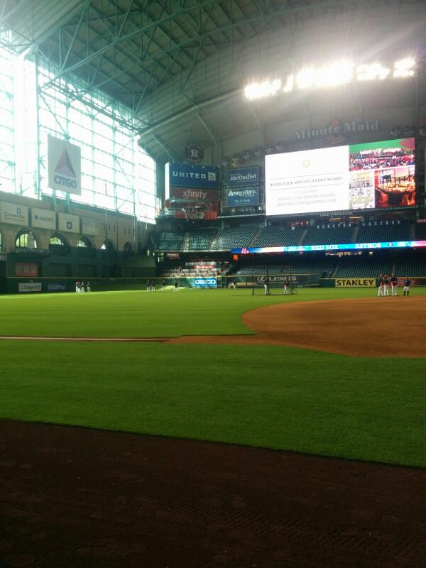Jon Rish On Twitter Quot First Visit To Minute Maid Park