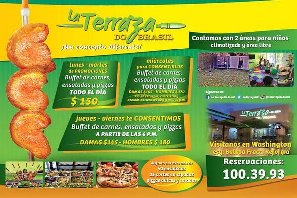 La Terraza Do Brasil No Twitter Estrenamos Promociones