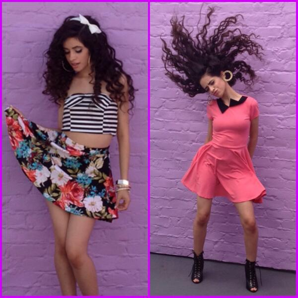 It's the 1st official @FifthHarmony Friday! Sneak peek of @camilacabello97's looks - line is out 8/13! #5HforWetSeal http://t.co/iPnjiyj9hk