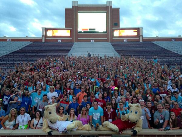 What an amazing week of Camp Crimson! #Boomer #yOUstarthere http://t.co/PIXVX7TYw2