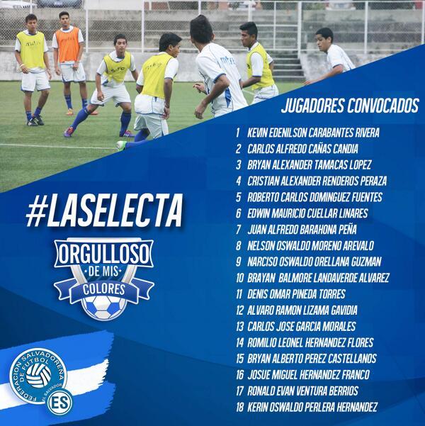 El Salvador sera sede de eliminatoria sub-20 en el 2014. BsTMBCICEAAbwsx