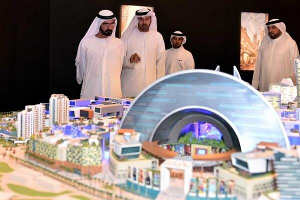 Dubai is planning to build the world's first in-door, air-conditioned mini-city: http://t.co/FGaTjONVKt http://t.co/EdcRPxFa0x
