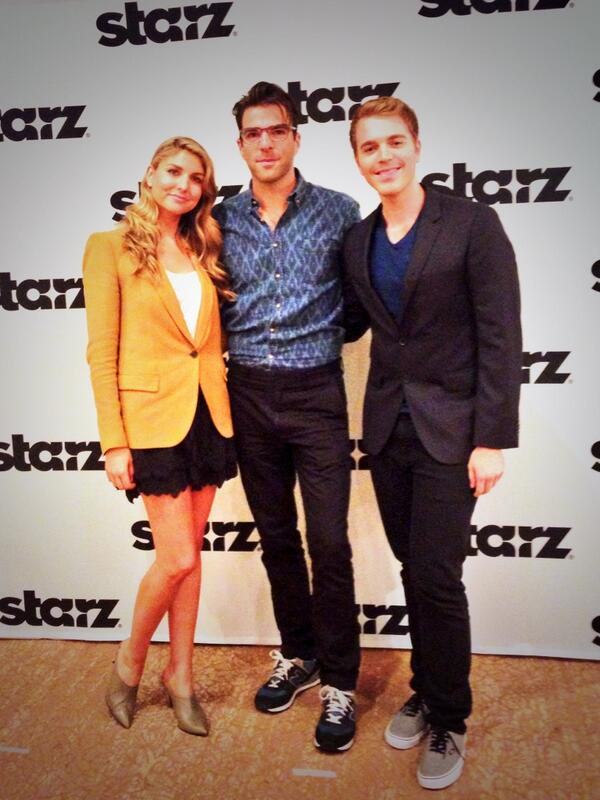 The Chair On Twitter Thechair S First Time Directors Annamartemucci And Shanedawson At Tca14 With Executive Producer Zacharyquinto
