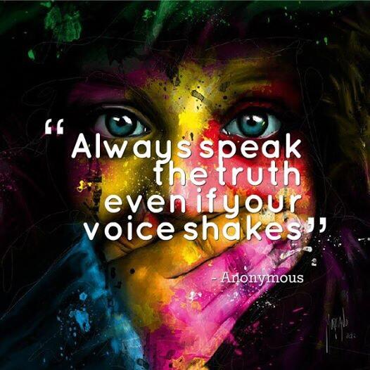 Twitter / JoyAndLife: Always speak the truth. Even ...