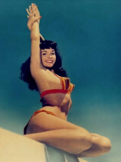 RT @BettiePageToys: We love this re-coloured classic of @BettiePage looking as gorgeous as ever! #pinup
