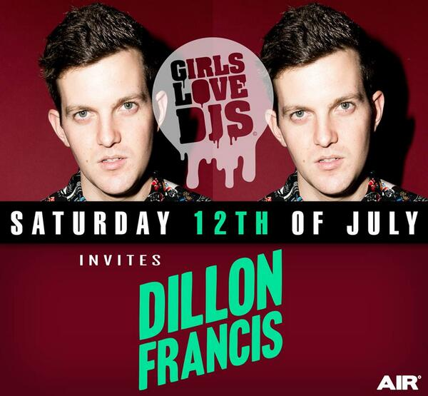 Check check! @DILLONFRANCIS hits AIR tonight :-) tickets? http://t.co/opKuqt7gxs http://t.co/SgjD9aDfw3