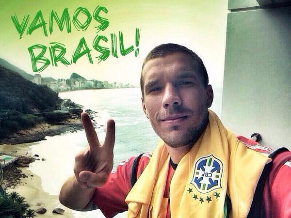 Boa sorte hoje no jogo, estamos todos na torcida, muita raça, para frente #Brasil #CoraçãoVerdeAmarelo