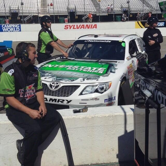 Twitter / interstatebatts: Matt Kenseth currently p2 in ...
