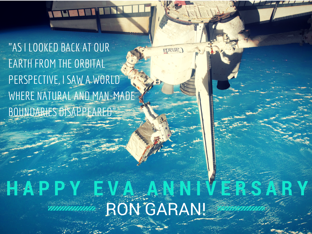 Twitter / Ness_Knight: 3 years ago today @Astro_Ron ...