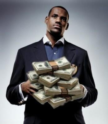 According to Bloomberg, the Cleveland Cavaliers net worth doubled to approx. $1B after LeBron signed. http://t.co/JPkohanptr