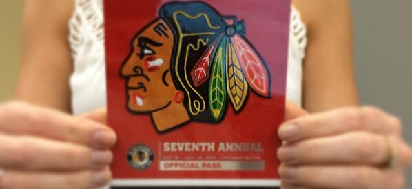 Want to go to the @NHLBlackhawks Convention next weekend? RT for your chance to win 2 passes! http://t.co/G5TsBpLT5L http://t.co/my1e2PtOQO