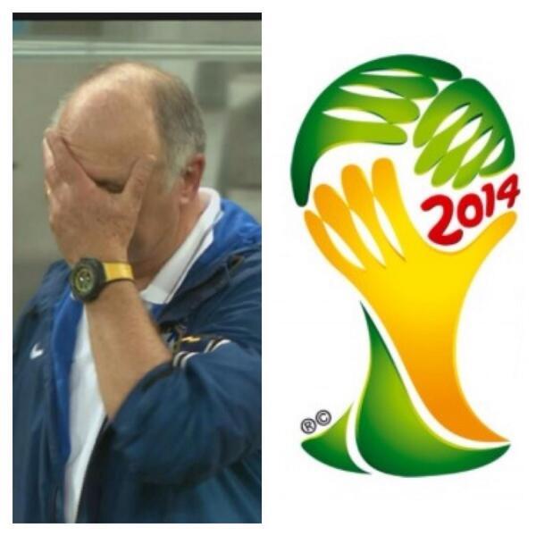 Stakkars Brasil. Facepalm-logoen viste seg å være profetisk. (Reprise). http://t.co/4qooNuGqmS
