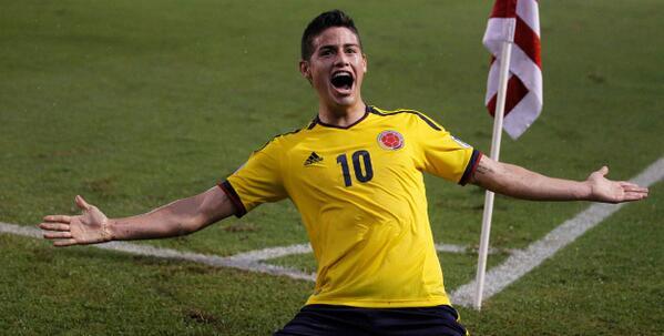 #FelizCumpleJames @jamesdrodriguez gran futbolista... Si eres de #Colombia y estas orgulloso de James RT. http://t.co/K9TTgqZBTH